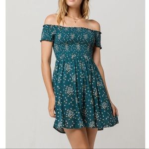 Tillys mimi chica off shoulder floral dress